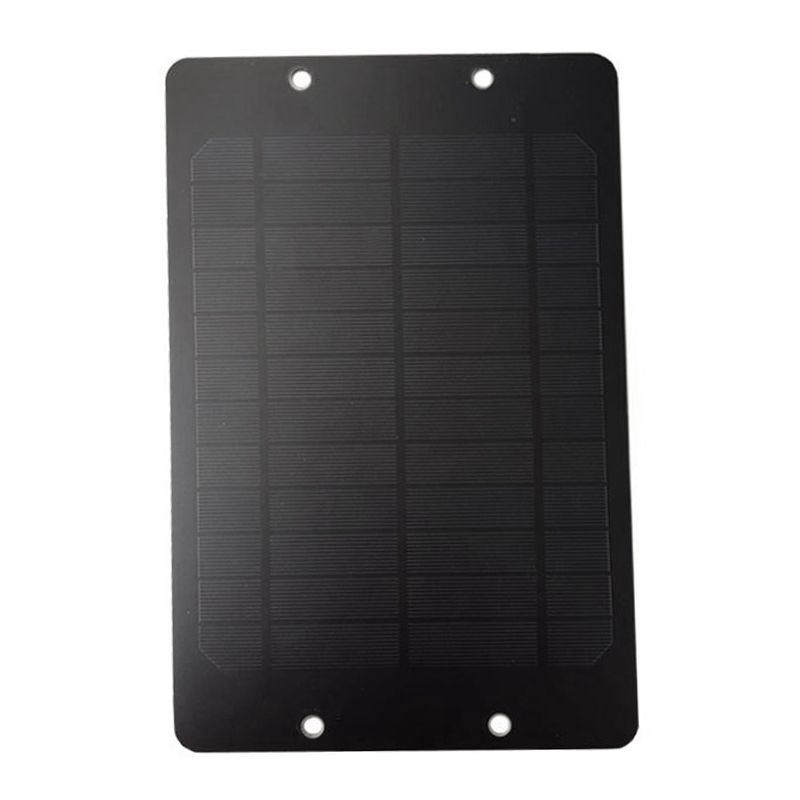 AAAE Top-6V 6W Solar Panel With Junction Box For Bike Share DC System Public Rental Bicycle Solar Cell Monocrystallin Universal