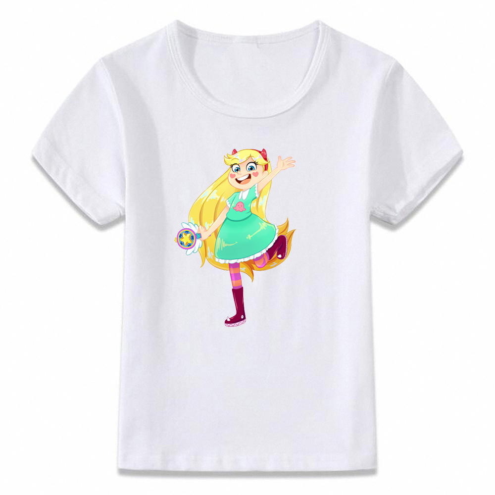 Kids Clothes T Shirt Magical Princess From Another Dimension Star Vs The Forces Of Evil Boys And Girls Toddler Shirts Tee,bal551