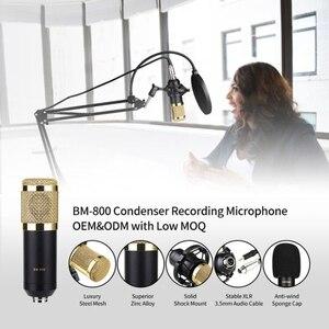 Image 3 - Condenser Microphone Bundle BM 800 Mic Set for Stu dio Recording & Brocasting Microphone Kit for Pc Computer