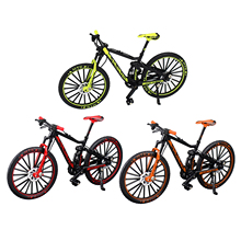 1/10 Racing Bicycle Model Vehicles Finger Bike Toy Mini Office Decor Kids Toys