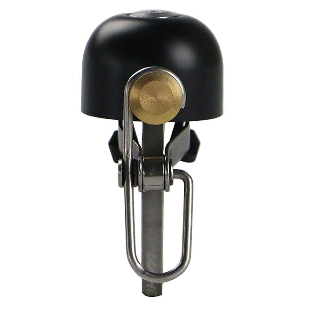 Велосипедный звонок складной велосипед Ретро звонок для горного велосипеда Рог Аксессуары для велосипеда велосипедный Звонок - Цвет: black