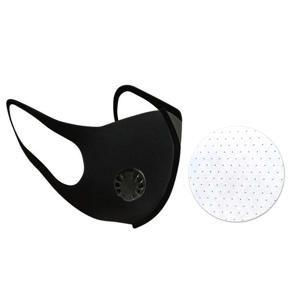 Anti Haze Mask Breath Valve Anti-dust Mask Activated Carbon Respirator Mouth-muffle Mask Filter Protective KN95Face Gas Mask