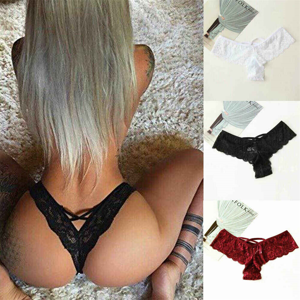 Wowboom <font><b>Sexy</b></font> Thongs Underwear Women Seamless Lingerie Lace Panties <font><b>Bikini</b></font> Knickers G-string Underpant Briefs <font><b>tanga</b></font> Female Thong image