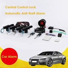 Système de verrouillage Central automatique de voiture, unité de contrôle à distance avec moteur électrique, verrouillage de porte, sirène anti-cambriolage