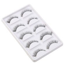 Big sale! 5 Pair/Lot Crisscross False Eyelashes Lashes Voluminous Hot Eye Lashes 52
