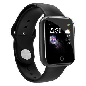 Image 4 - Reloj inteligente I5 IP67 para Android e iOS, reloj inteligente resistente al agua con control del ritmo cardíaco y de la presión sanguínea