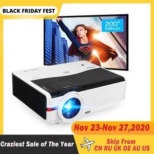 Image 1 - Caiwei A9/A9AB 스마트 안드로이드 와이파이 LCD LED 1080p 프로젝터 홈 시네마 풀 HD 비디오 모바일 비머 스마트 폰 TV 미라 캐스트 Airplay