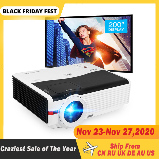 Caiwei A9/A9AB 스마트 안드로이드 와이파이 LCD LED 1080p 프로젝터 홈 시네마 풀 HD 비디오 모바일 비머 스마트 폰 TV 미라 캐스트 Airplay