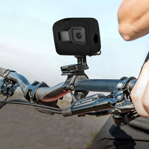 Image 5 - Windslayer for GoPro Hero 8 Black Windshield Wind Foam Cover Wind Noise Reduction Windproof Case for Go Pro 8 Camera Accessories