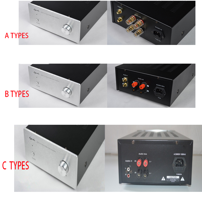 Full aluminum amplifier enclosure WA110 chassis//AMP box 116*50*208mm