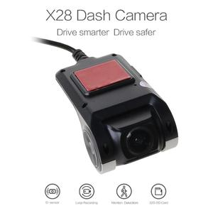 Image 2 - Full HD 720 P Cámara del DVR del coche de navegación automática Recorder Dash Cámara G Sensor ADAS Video
