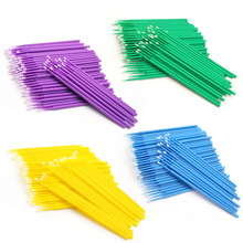 Grafted Eyelash Cotton Swab Rod Disinfection Cleaning Special for Cosmetics Quick Unloading