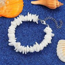 HIYONG Charm Bracelet for Women Girl Boho Summer Sea Shell Femme  Fashion Adjustable Rope Gold Set Jewelry