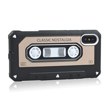 Applicable iPhone X Ultra-Thin Golden Years Nostalgic Tape Phone Case Retro Model Nostalgic Recording Tape Shell(China)