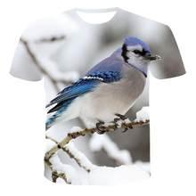 2020 XXS-6XL yeni 3D erkek hayvan baskı T-shirt hip-hop tarzı 3D baskı 3D baskı çabuk kuruyan T-shirt erkekler ve kadınlar kısa