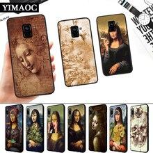 Mona Lisa Leonardo da Vinci Silicone Soft Case for Samsung A3 A5 A6 Plus A7 A8 A9 A10 A20 A30 A50 A10S A30S A50S