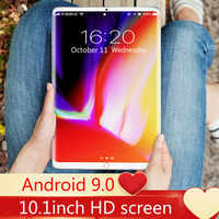 Tableta de 2021 pulgadas 6G + 10,1 GB para niños, entretenimiento visual, Audio, oficina, aprendizaje, Pantalla Completa 2K, nuevo producto insignia de 128