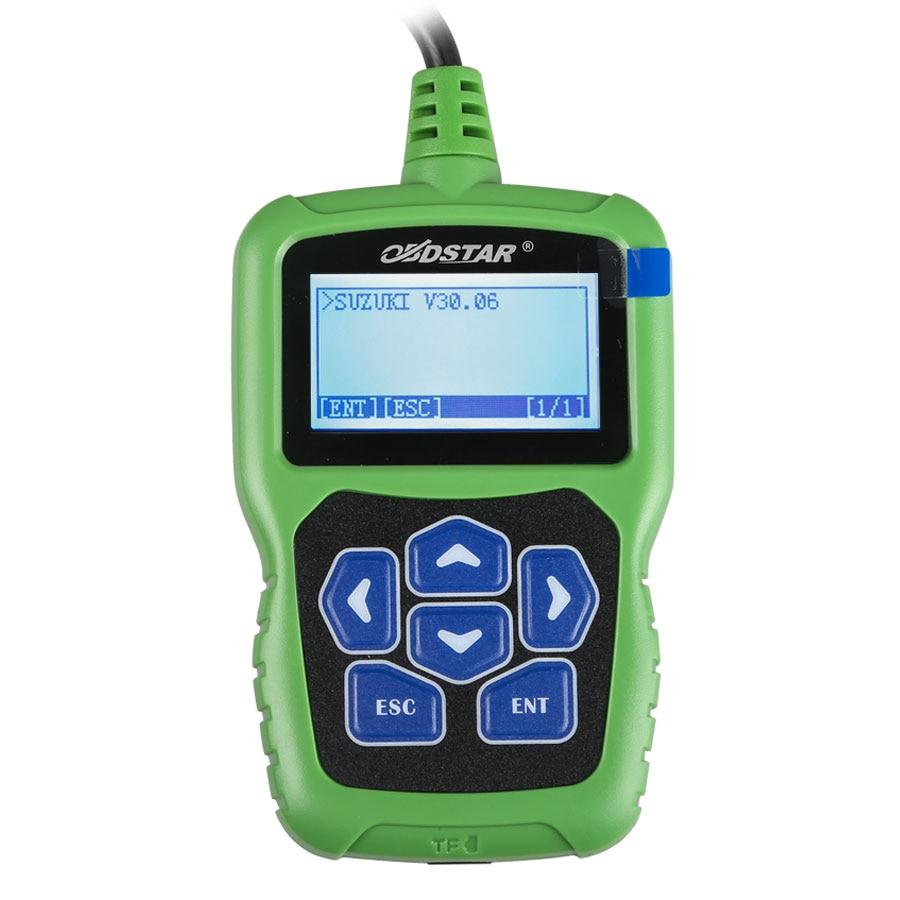 OBDSTAR F109 SUZUKI kod pin kalkulator z funkcją immobilizera i licznika kilometrów