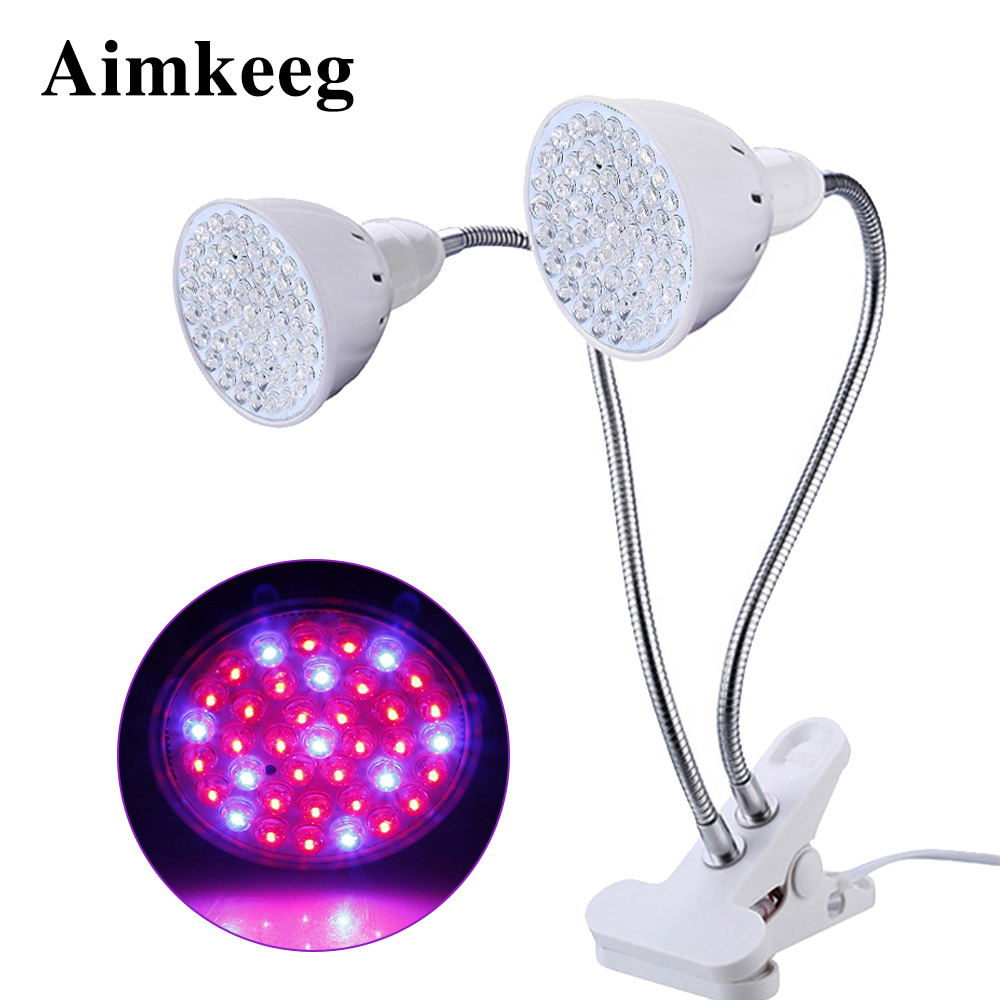 LED Grow Light Full Spectrum Indoor Plant Grow Light Clip Phyto Lamp LED Growing Lamps For Vegetable Flower Seedlings Lighting