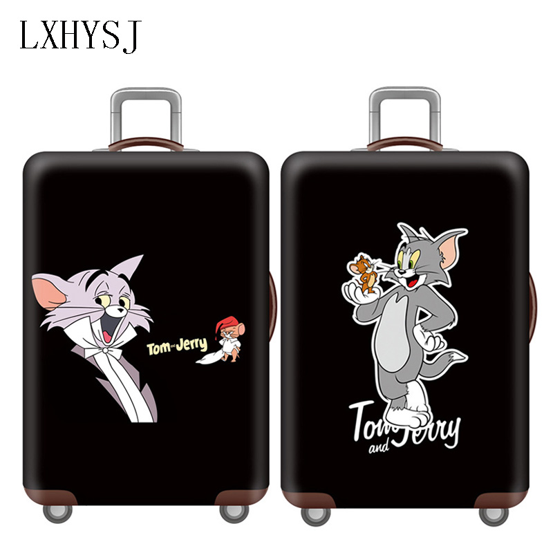 Elasticity Luggage Cover Luggage Protective Covers Baggage Cover   18-32 Inch Suitcase Case Dust Cover Travel Accessories