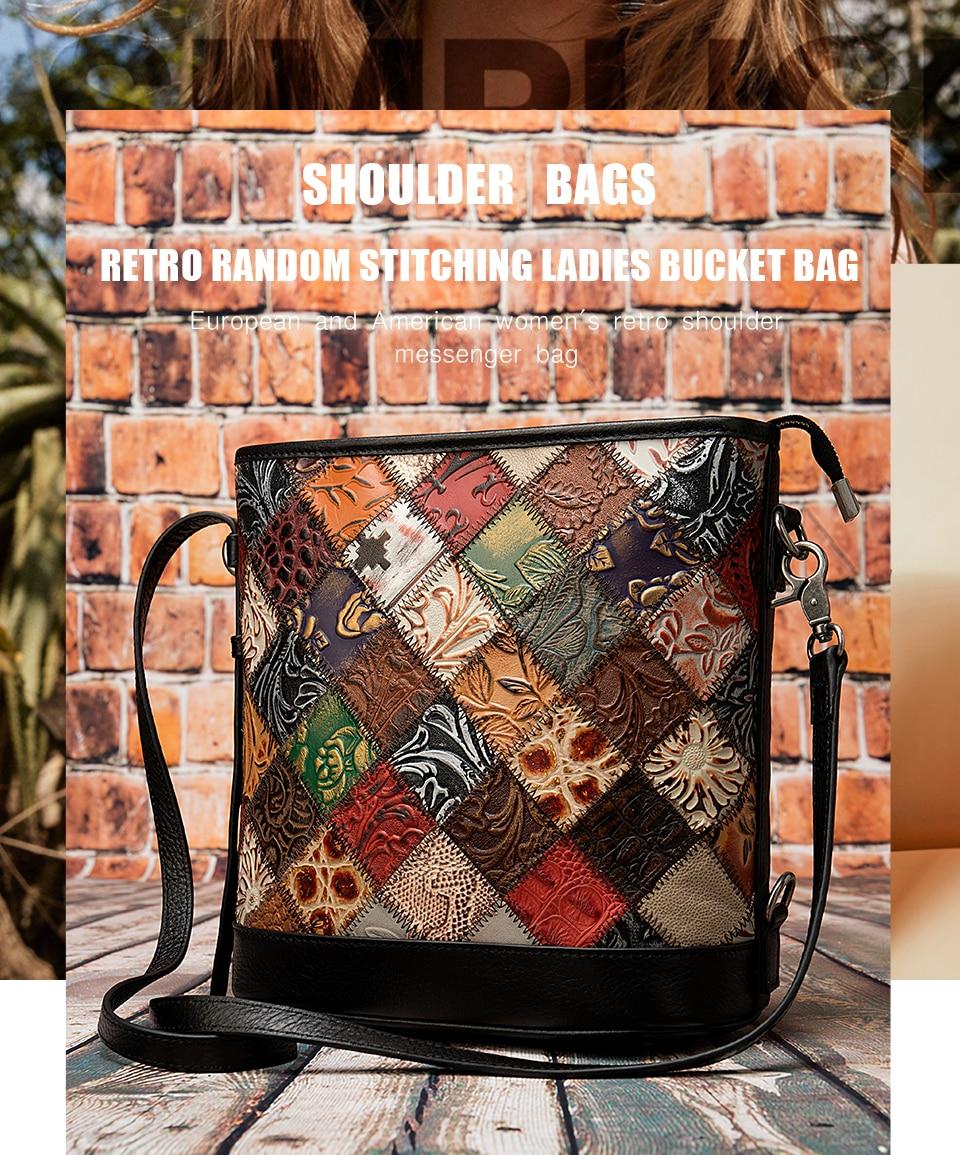 luxo das mulheres bolsa pequena retalhos bolsa de couro mulher