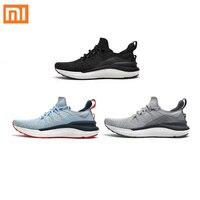 Xiaomi Mijia deporte de los hombres zapatos 4 zapatillas de deporte 4th hombres corriendo transpirable ligero 4D volar parte superior de tejido lavable zapatos tamaño 39-44
