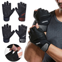Gym Gloves Weight Lifting Gloves Non-slip  Sports Exercise Men Women Bodybuilding Training Sport Fitness Gloves oem gym weight lifting leather xrossfit training barbell pull up hand grip workout sport bodybuilding fitness hand gloves
