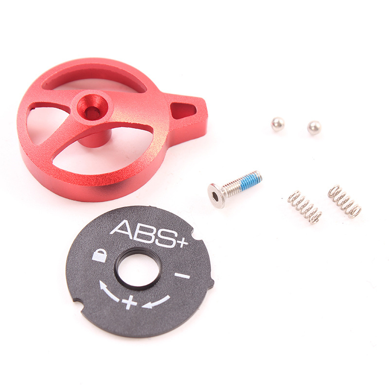 Cover Lock Cap Switch Manual Lockout Assembly Balls Kit For Bicycle Fork Screw
