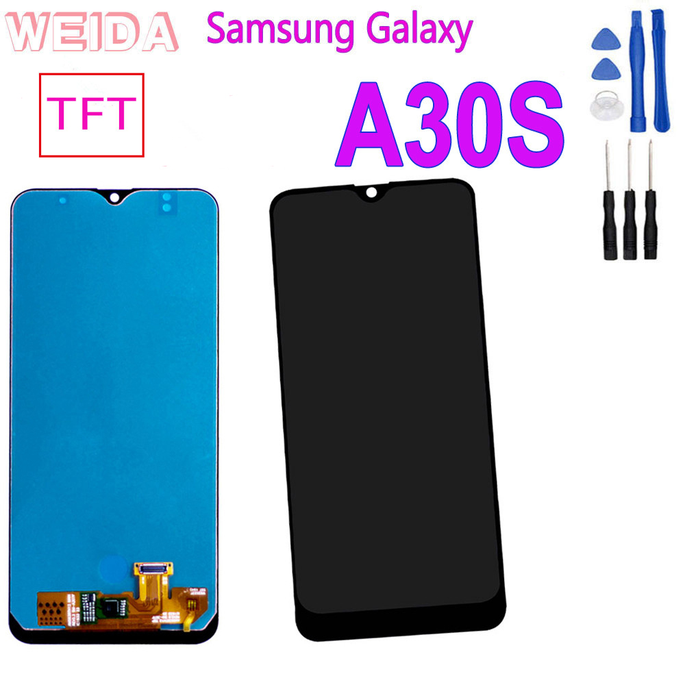 6.4'' <font><b>LCD</b></font> for <font><b>Samsung</b></font> Galaxy <font><b>A30S</b></font> A307F A307FN A307G A307GN A307YN Touch <font><b>Screen</b></font> Digitizer Assembly <font><b>Screen</b></font> Replacement Display image