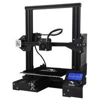 Ender 3/ Ender 3 PRO 3D Printer DiY Kit V slot I3 FDM Technology MK10 Extruder 220x220x250mm Size 3D Continuation Printer