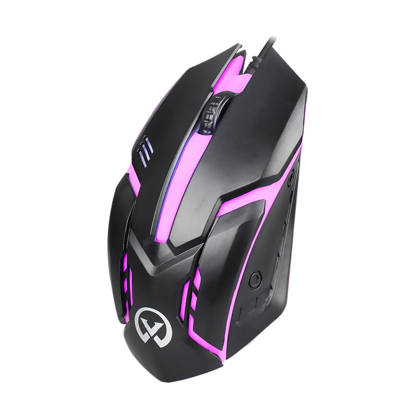 G813 Small Magic Wired Backlit Usb Mouse Competitive Gaming Notebook Office Luminous Mouse