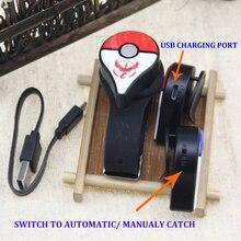 Автоматическая ловля для kingd Pokemon Go Plus Bluetooth браслет устройство с перезаряжаемой батареей для Pokemongo plus+ подарок