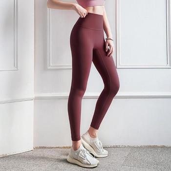 Vnazvnasi Hot Sale Fitness Female Full Length Leggings 11 Colors Running Pants Formfitting Girls Yoga