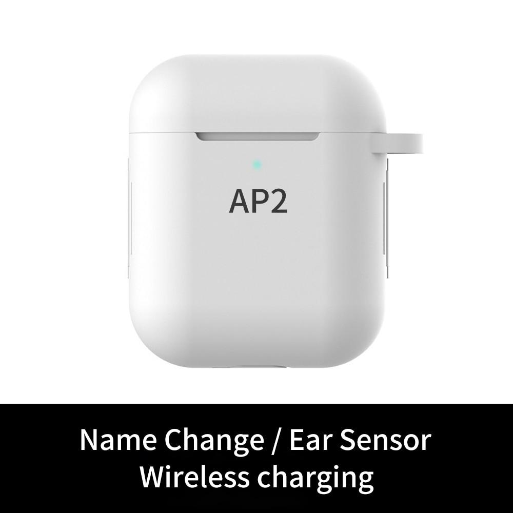 Беспроводные наушники AP2 TWS 1:1 Mini Bluetooth 5,0, стереонаушники-вкладыши с поддержкой прямой поставки, спортивные наушники, наушники Bluetooth Elair