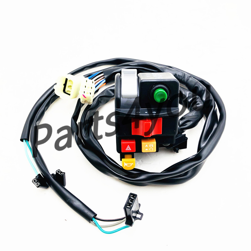 CFmoto HANDLEBAR SWITCH (LH) Left hand switch assembly  for CF MOTO X8 800CC 7020-160600