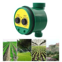 Faucet Timer Irrigation Timing Device Green G3/4 Interface Botany Gardener The Flower Beds ABS Durable Waterproof Water Timer