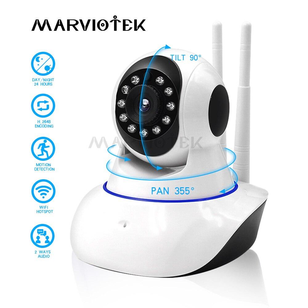 720P Baby Monitor WiFi Baby Camera With Monitor Night Vision Video Nanny Camera P2P Wireless Baby Phone Camera Two Way Audio IR