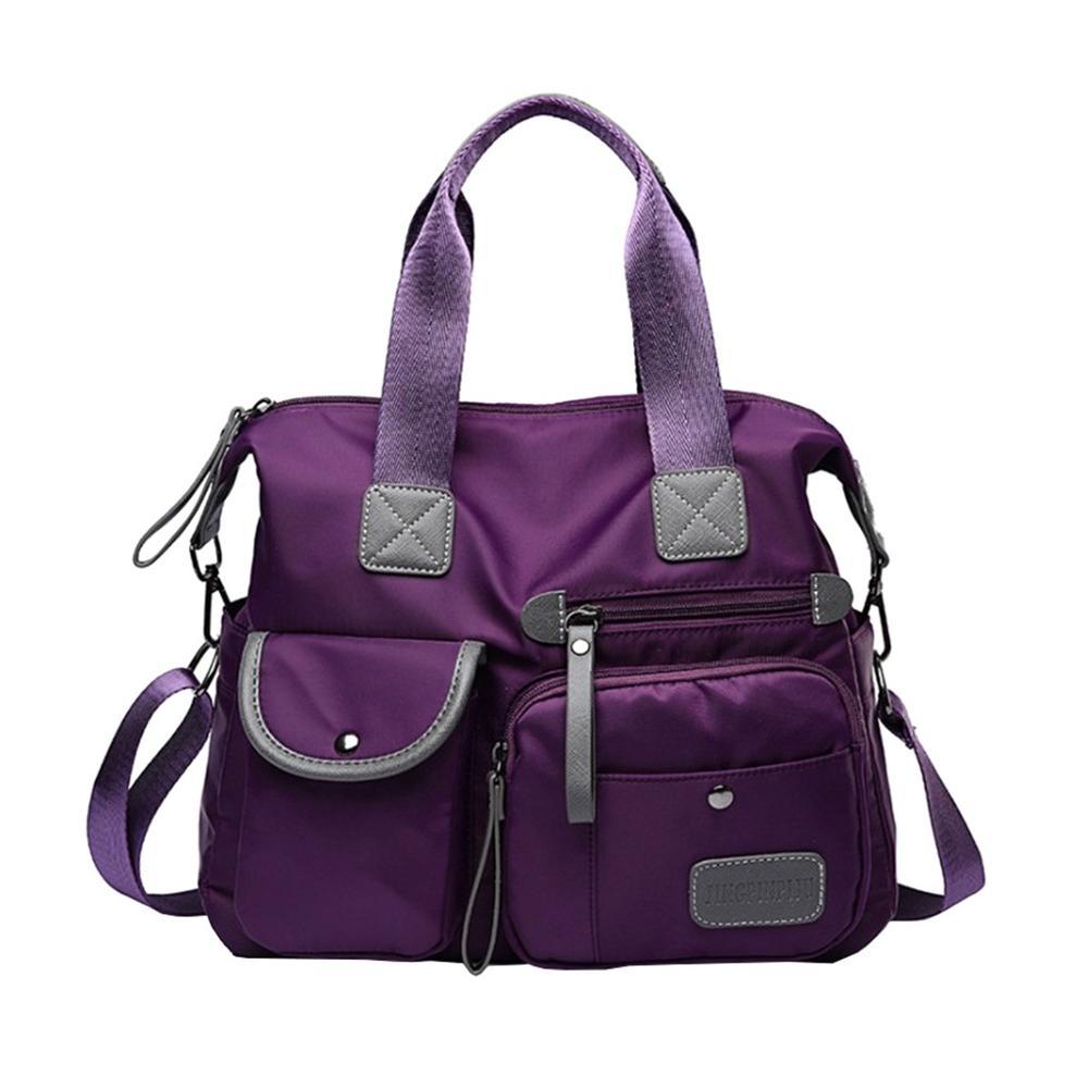Women Shoulder Bag Nylon Bag Waterproof Casual Travel Bags Gym Bags Mummy Bag Large Capacity Fashion Lady Sport Travel Bag 2020