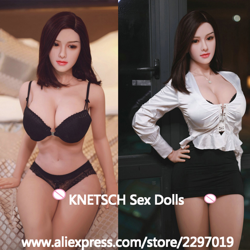 KNETSCH 164cm Big Breast Full Silicone Sex Doll Oral Masturbator Realistic Vagina Anal Pussy Love Doll Adult Sex Toys For Men