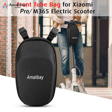 Amalibay Scooter Head Handle Bag Tool Front For Xiaomi Pro Mijia M365 Electric Ninebot ES1 ES2  30x 14 X 16cm
