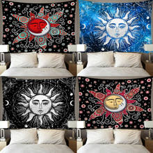 Creative Twin Human skeleton Tapestry Art Wall Hippie Hanging Mandala Blanket Throw Home Dorm Decoration Modern Mat Blanket(China)