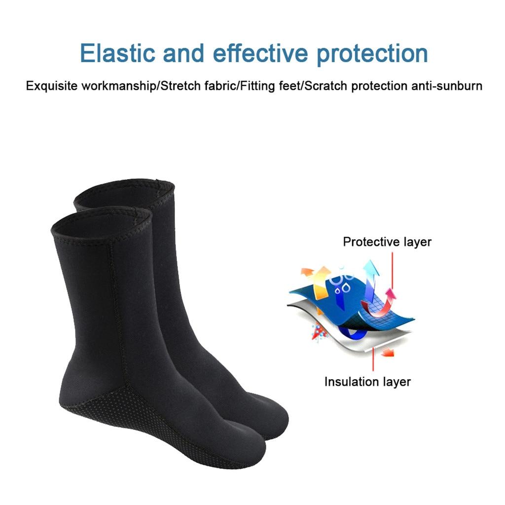 Neopren Tauchen Socken Wasser Stiefel Anti-Rutsch-Schwimmen Strandsocken Surfen