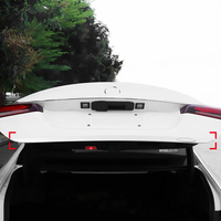 Fit for Mercedes Benz A Class V177 Sedan 2019 2020 Car Styling Chrome Rear Trunk Tail Gate Trim Cover Molding Garnish 1pcs