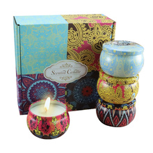 цена на Velas Perfumadas Candles Home Decoration Candles Aromatherapy Handmade Natural Candles Jars