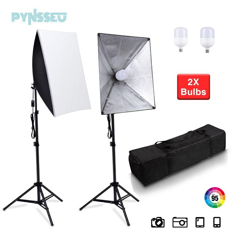 PYNSSEU Professional Soft-box Photography Lighting Box 20