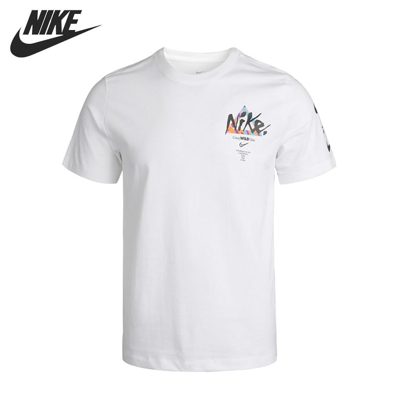 Original New Arrival NIKE M NSW TEE WILD JDI LBR Men's T-shirts short sleeve Sportswear