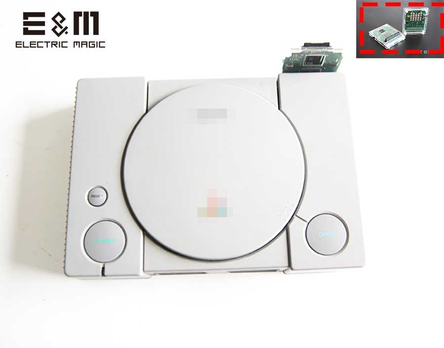 Modify PSIO Game Device CD Free SDL CD ROM Driver Board Simulator Burner Recorder 3D Printer Case for PS SD PS1 Console