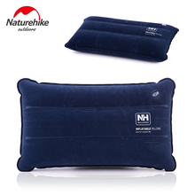 Naturehike Inflatable Camping Pillow Foldable Travel Pillow Leisure Air Pillow Outdoor Cushion Car Plane Hotel Headrest