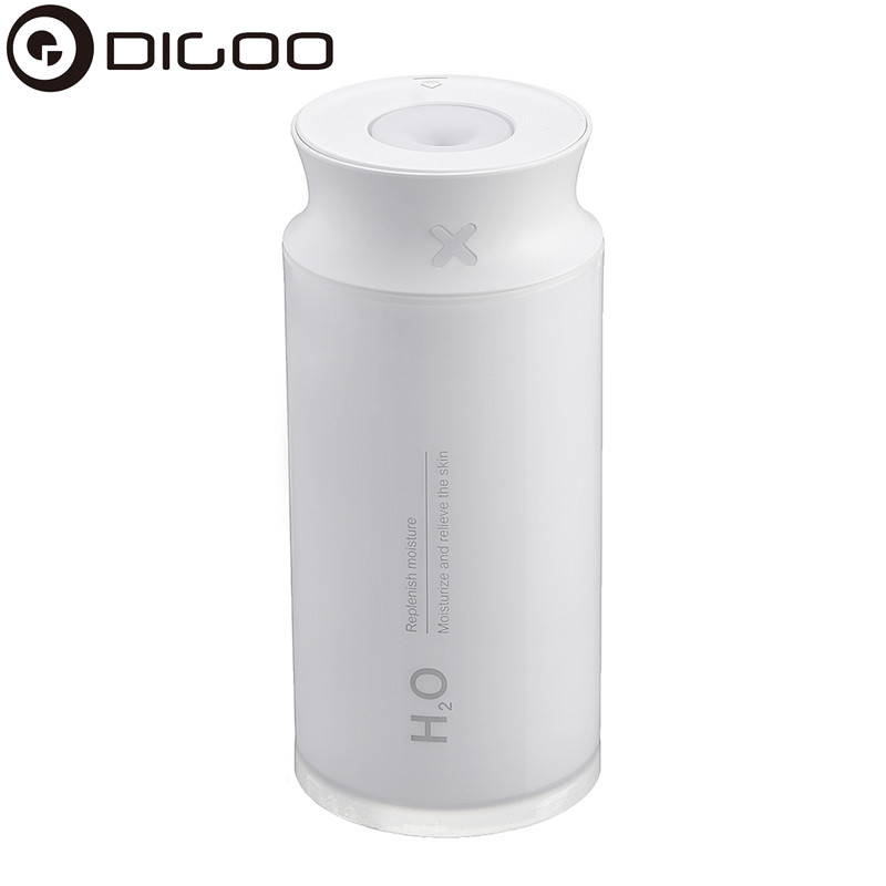 DIGOO DG-907C Ultrasonic Air Humidifier With LED Light USB Electric 400mL Air Purifier Mist Diffuser Machine For Home Office