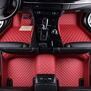 Image 4 - High quality leather car floor mat for hyundai SOLARIS CRETA ix35 TUCSON ELANTRA SONATA i30 i40 Santa Fe carpet alfombra astra h